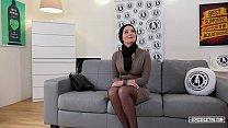 EXPOSED CASTING - Slovak babe Lucia Denville ta...