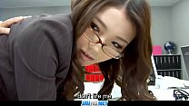 Subtitles - Boss fucked her japanese secretary Ibuki porn videos