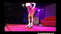 hot real busty sex show on public stage