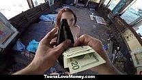 TeensLoveMoney - Leigh Rose Loves Money And Sex