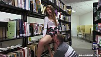 Teen Pussy in the Library porn videos