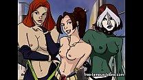 x men super heroes parody orgy