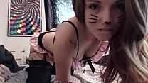 girl kitty My