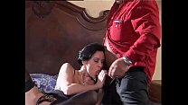 cock malone's roberto by banged brunette Sexy