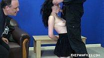 sex slaves submission and rough blowjob of hardcore masochist fae corbin