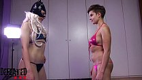 newcomer cheater the fight: smother Df009-foot