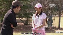 Subtitled uncensored HD Japanese golf outdoors exposure porn videos