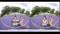 VR Threesome - Riley Reid and Melissa Moore - N...