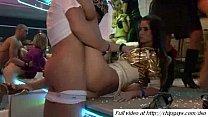Beauty girls in night club