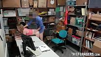 Corrupt Officer Bangs Shoplifters Maya Bijou & ...