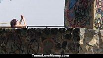 TeensLoveMoney - Hot Latina Gets Fucked Outdoors porn videos