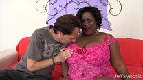 Sexy ebony Marlise Morgan gets fucked hard