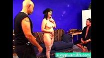 Mature wife first threesome scene