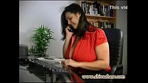 Desi horny aunty phone chat with lover with dir...