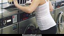exxxtrasmall   petite teen fucked in laundromat