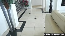 Naughty babysitter busted fucks her clients big cock