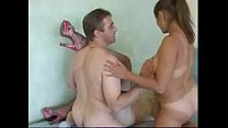 Amateur russian teen 3some