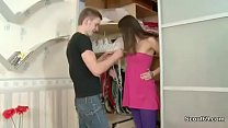 German Step-Brother Seduce Sister to Fuck when ...
