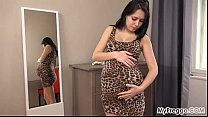 pregnant! weeks 40 at outfits Modeling