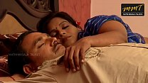 Indian House wife sharing bed with her Husband ...
