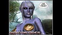 5 episode rider. dragon comic: 3d