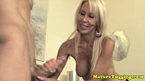 mature granny spoiling guys dick