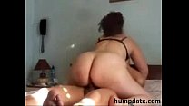chubby brunette housewife rides hubbys cock
