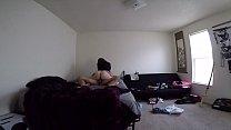 Amateur big booty brunette gf fucked hidden cam