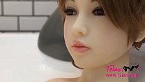 The creampie doggystyle pussy japanese sex doll