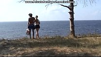 Kiler hot nude couple fucking on the desolate r...