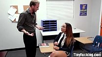 hot schoolgirl in trouble fucks her white teacher