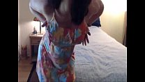 Sister In-law agrees to Strip on Webcam - Free at www.WankTime.EasyXTubes.com porn videos