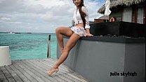 maldives teasing gml sandals and floating skirt c4all.wmv