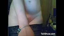 Cute Cam Girl Plays With Her Pussy