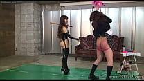 Japanese Femdom Emiru Whipping and Handjob porn videos