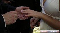 Sexy blonde bride Nicole Aniston fucking porn videos