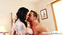 tattoed brunette wife scarlet lavey fucking