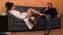 The Puppet Of Elisa First Part - Footjob thumb