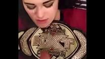 WWE diva Paige cumshot video