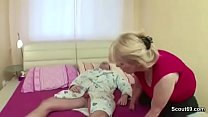Milf Mother Seduce Young Step-Son to Fuck her w...