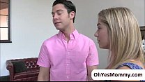 Teen Lia Lor is attracted to MILF Brandi ends in threesome sex porn videos