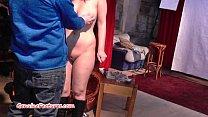 Fresh 24yo newbie shows her big boobs at the CA...