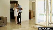 BLACKED  Blonde Babysitter Trillium Fucks her Black Boss - download porn videos