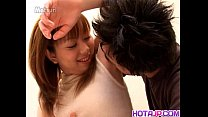 Young Erika receives proper pounding