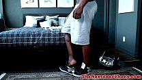 African gaysex hunk loves a solo session