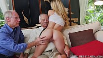 Young Molly Earns Her Keep by Fucking Old Guys ... thumb