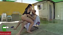 Summer fucked in the pool outdoors with Pamela ...