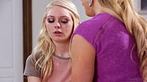 Amazing blonde lesbos Cherie Deville and Allie Rae