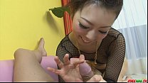 tai phim sex -xem phim sex Kinky and nasty woman in fishnet gagging and cu...