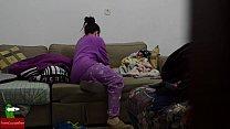 pajamas in cock Eating